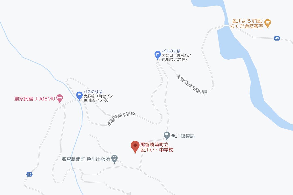 JUGEMU界隈のマップ画像