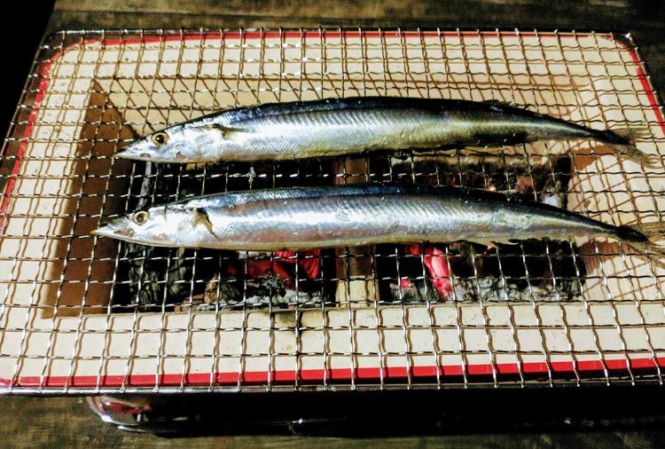 コーナン オリジナル 七輪角型ワイド 秋刀魚